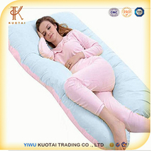 Omnipotent Cool U Shaped Pregnancy Body Pillow with Zipper Removable Cover