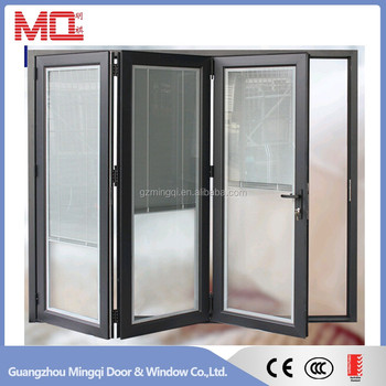 Aluminum Partition Casement Door With Grill Glass Design Buy