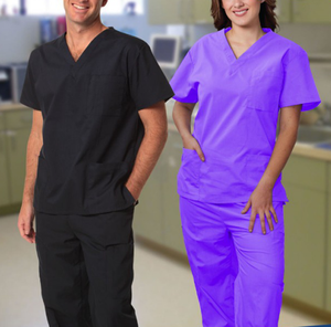 OEM Medical Uniforms Made in China Alibaba Best Selling Hospital Scrubs United States Cheap Scrub Sets, Cheap Scrubs canada