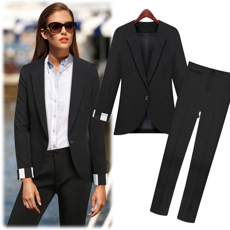 Black Suit For Women Sale