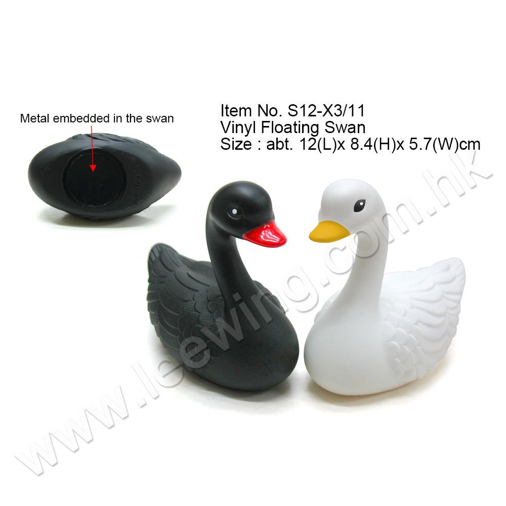Plastic Swans For Cake
