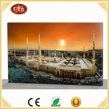 Islamic decoration lights canvas prints