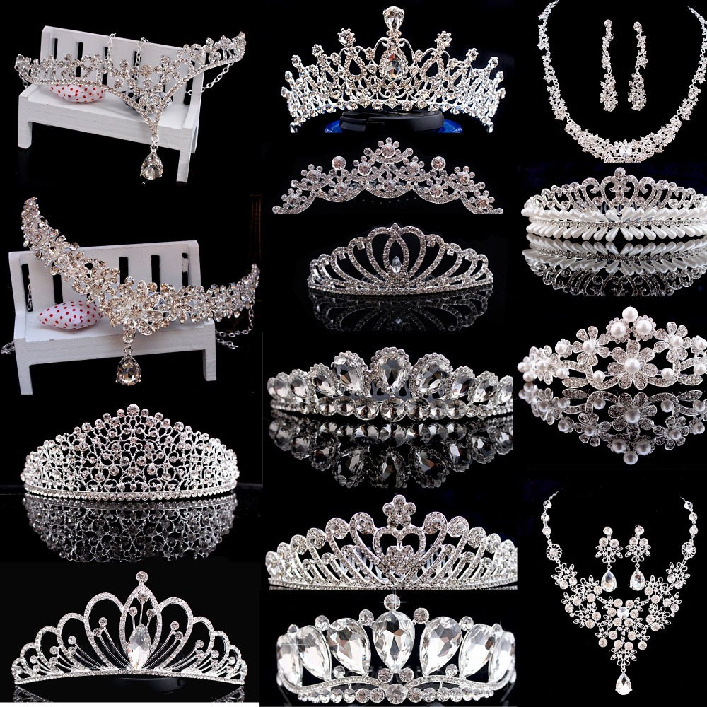 High Quality Luxury Princess Tiara And <strong>Crown</strong> Wedding Ceremony Shining Headwear Rhinestone Romantic Hair Combs Gold <strong>Crown</strong> Series