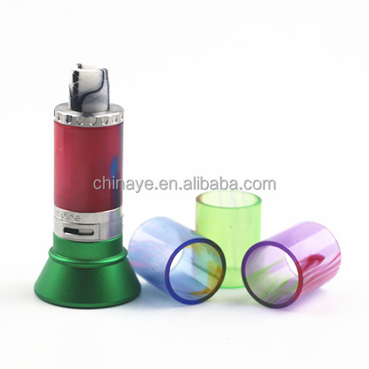 Hot selling replacement Cleito tube atomizer e-cigarette resin vape tube mod
