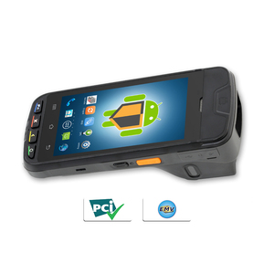 Wireless data pos payment device with printer