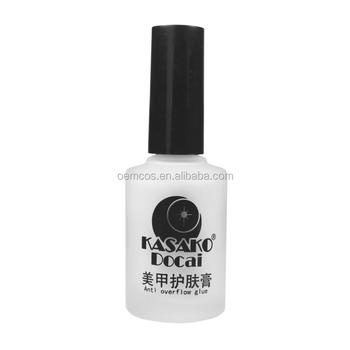 12ml Nail Art Anti Overflow Glue Peel Off Base Coat Liquid Tape Cream Tape Polish Palisade Manicure Buy Ice Cream Manicure Manicure Pedicure