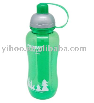Plastic Sports Bottle with ice stick 880ml canada market approved aluminum bottle
