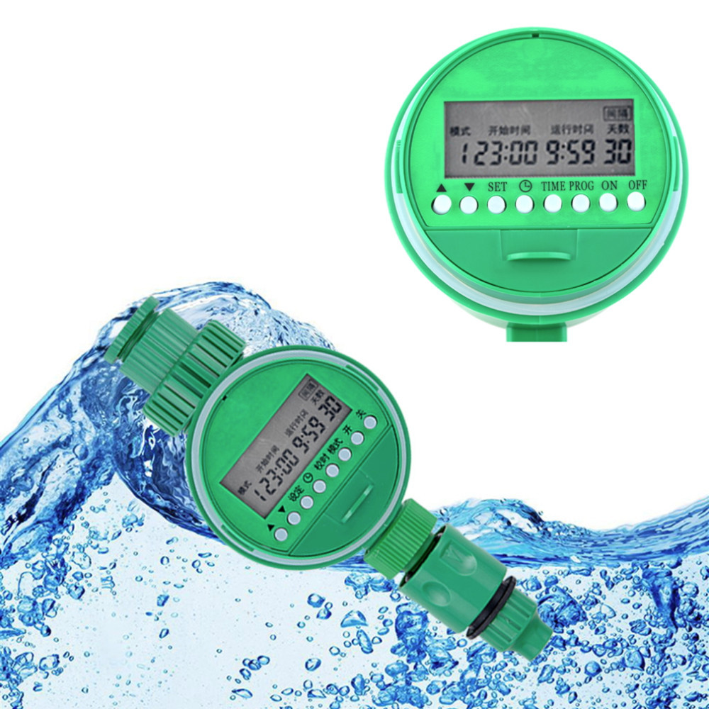 High Quality Automatic New Electronic LCD Water <strong>Timer</strong> Garden Irrigation Program Sprinkler Control <strong>Timer</strong>