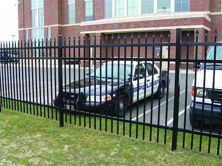 Wrought iron estate fencing no climb fence buy