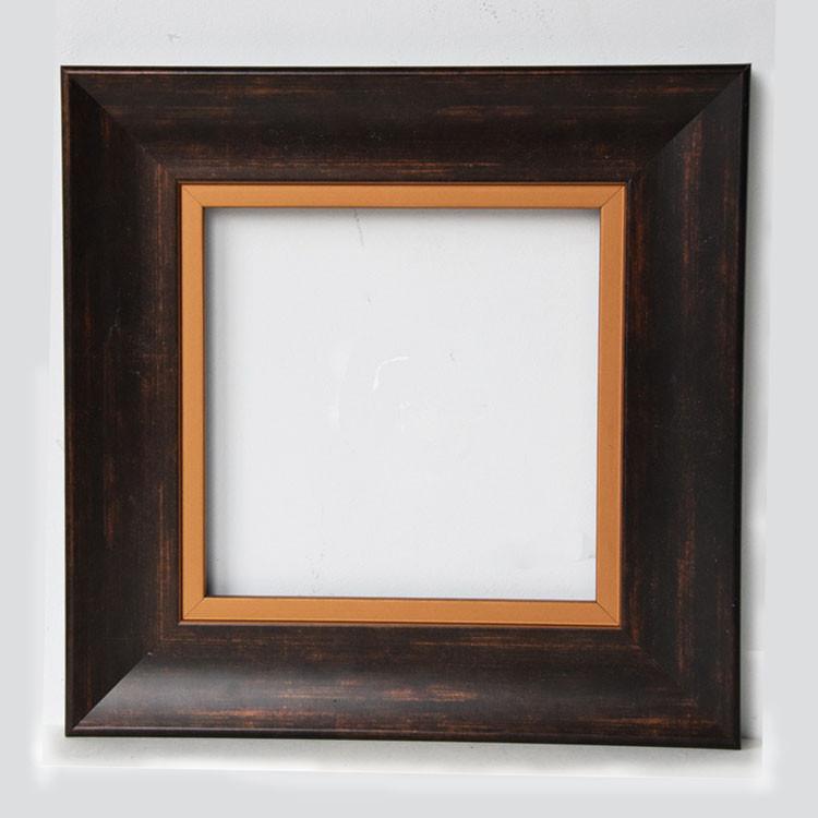30x30 Frame Goud Innerlijke Edge Verontruste Hout Fotolijsten Buy