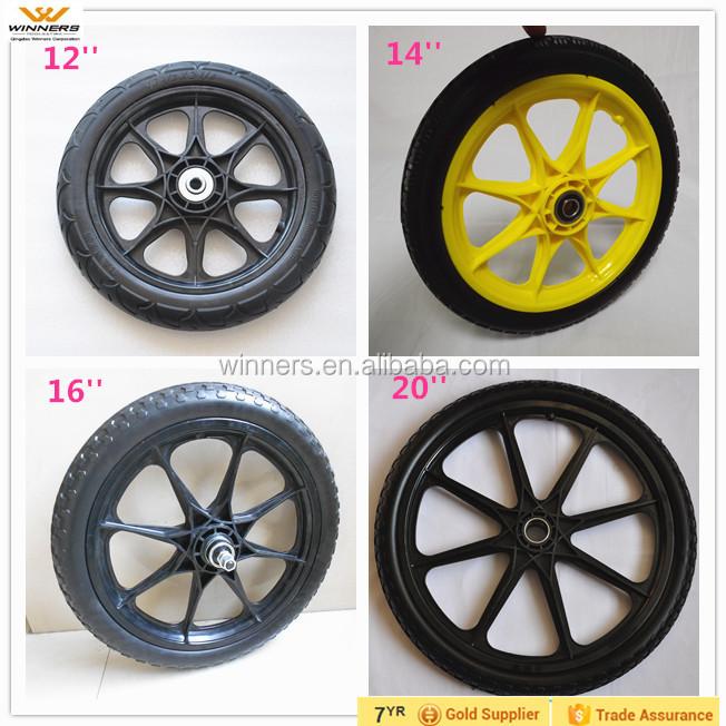 Plastic Wheel Garden Cart WheelBike Bicycle Trailer Wheel 20