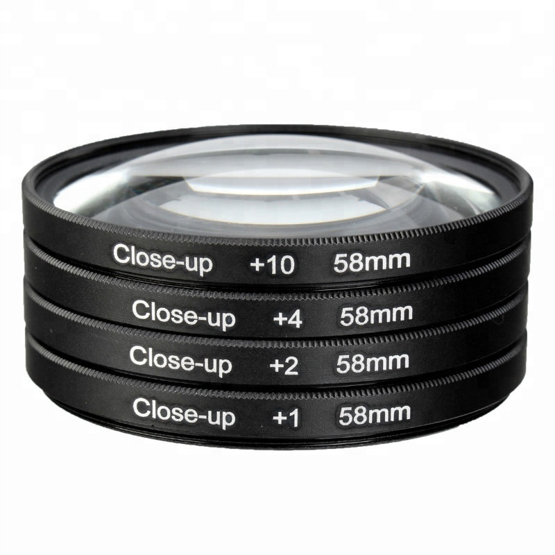 GREEN.L 72mm Close up Macro Filter 10 Diopter 10x Filter with Filter Pouch