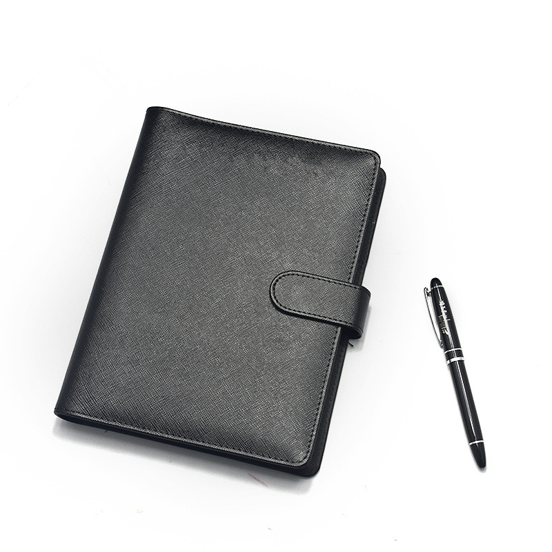 Customized university notebook personalised notebook with pen