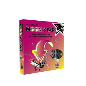 Moon Star Africa black non-smoke mosquito coil