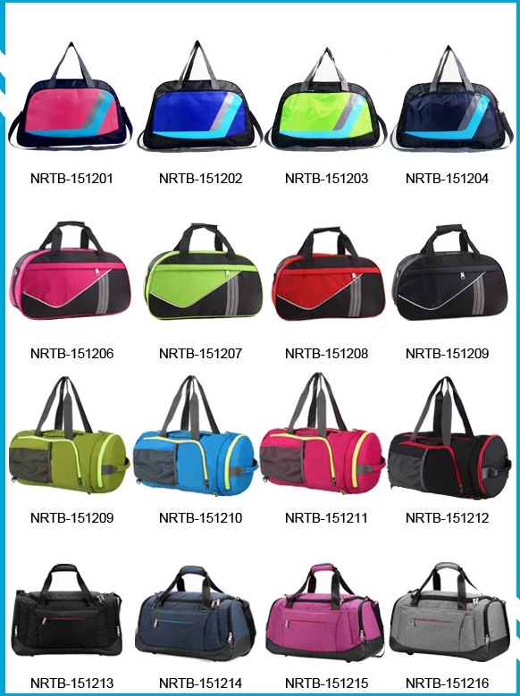 China supplier BSCI & TUV Certificate 600D & 420D Polyester Waterproof Travel tote bag with shoe compartment