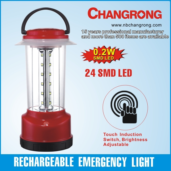 portable 24 led solar powered camping lamp lantern