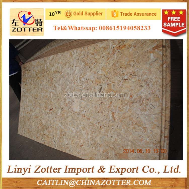 OSB (Oriented Strand Board) for exterior decoration and construction