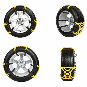Automobile Snow Chain Tire Anti Skid Chains Thickened Beef Tendon Wheel Antiskid TPU Chain for Car Tire