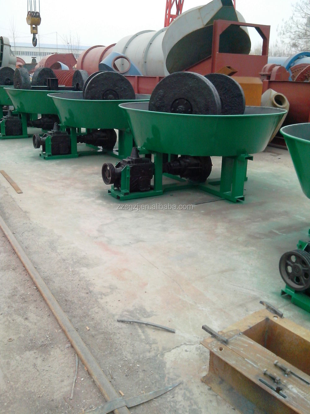 Cost-effictive high benefit pan wet mill for big sale