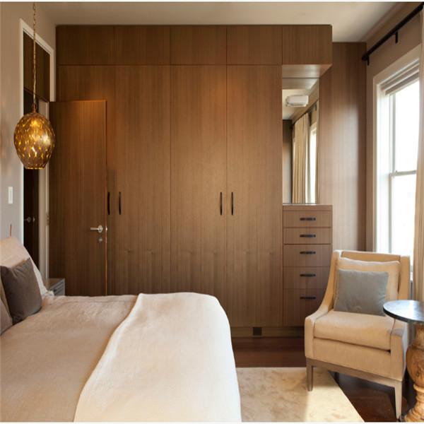 Placard en bois design for Placard design chambre