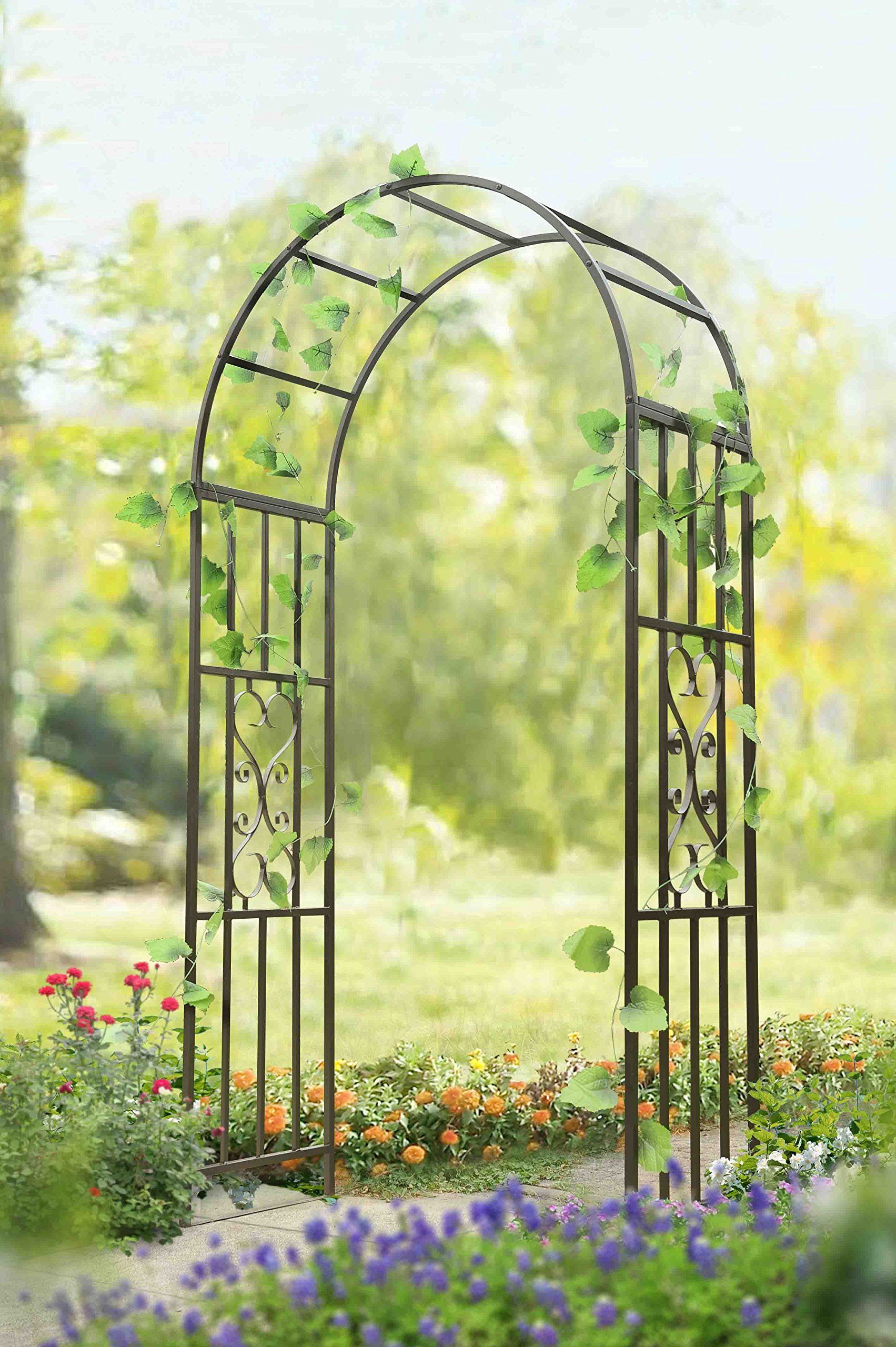 Wonderful Get Quotations · Sunjoy Garden Steel Frame Arbor