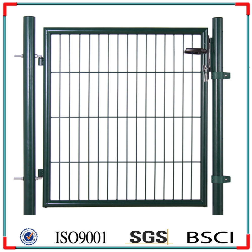 European style metal garden gate new house grill