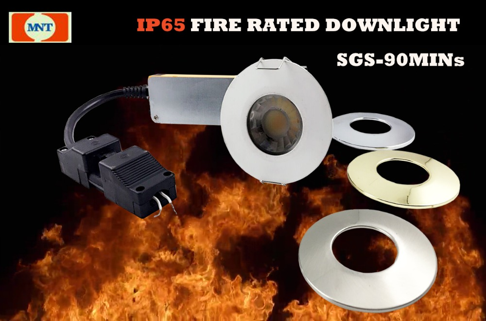 Fire Rated Led Downlight With High Quality Uk Standard Connector ...