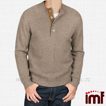 Botón De Merino Lana Suéter De Moda Para Los Hombres - Buy Suéter De Moda  Para Hombres fab5677552f0