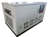 3 Phase 230/400V Silent Small Natural Gas Generator 8 kw For Shop