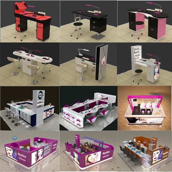 2016 hot sale popular salon manicure table