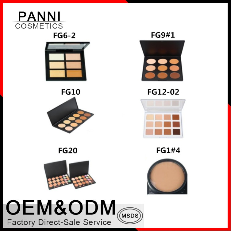 Factory price cosmetic High quality Makeup 15 color concealer palette