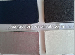Non-woven base leather space leather for sport shoe and ball,PU nubuck