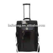 2012 best 3pc design fashion travel good bussiness aluminum cheap leather manly luggage case