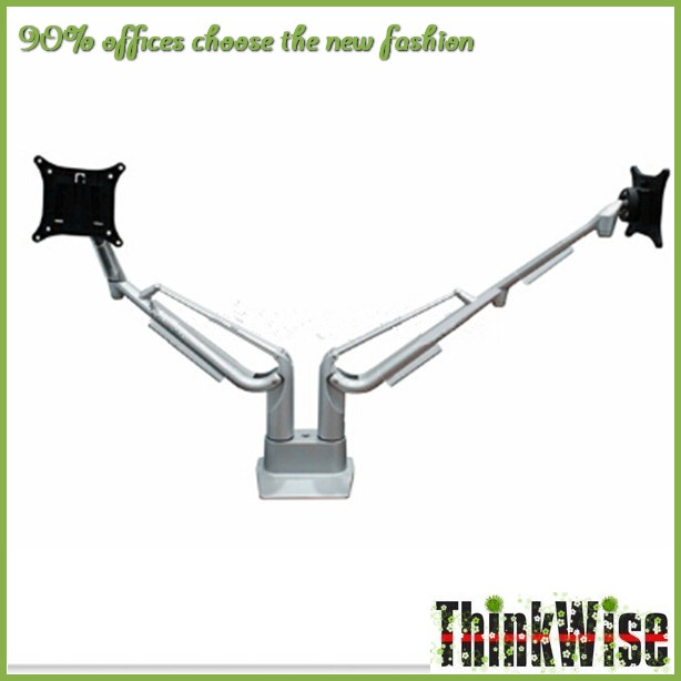 Think Wise K200 gas double lcd monitor desk mount arm