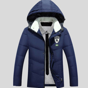 Winter Men's Fleece Hoodie Clothing Farmers' Smart Heated Jacket