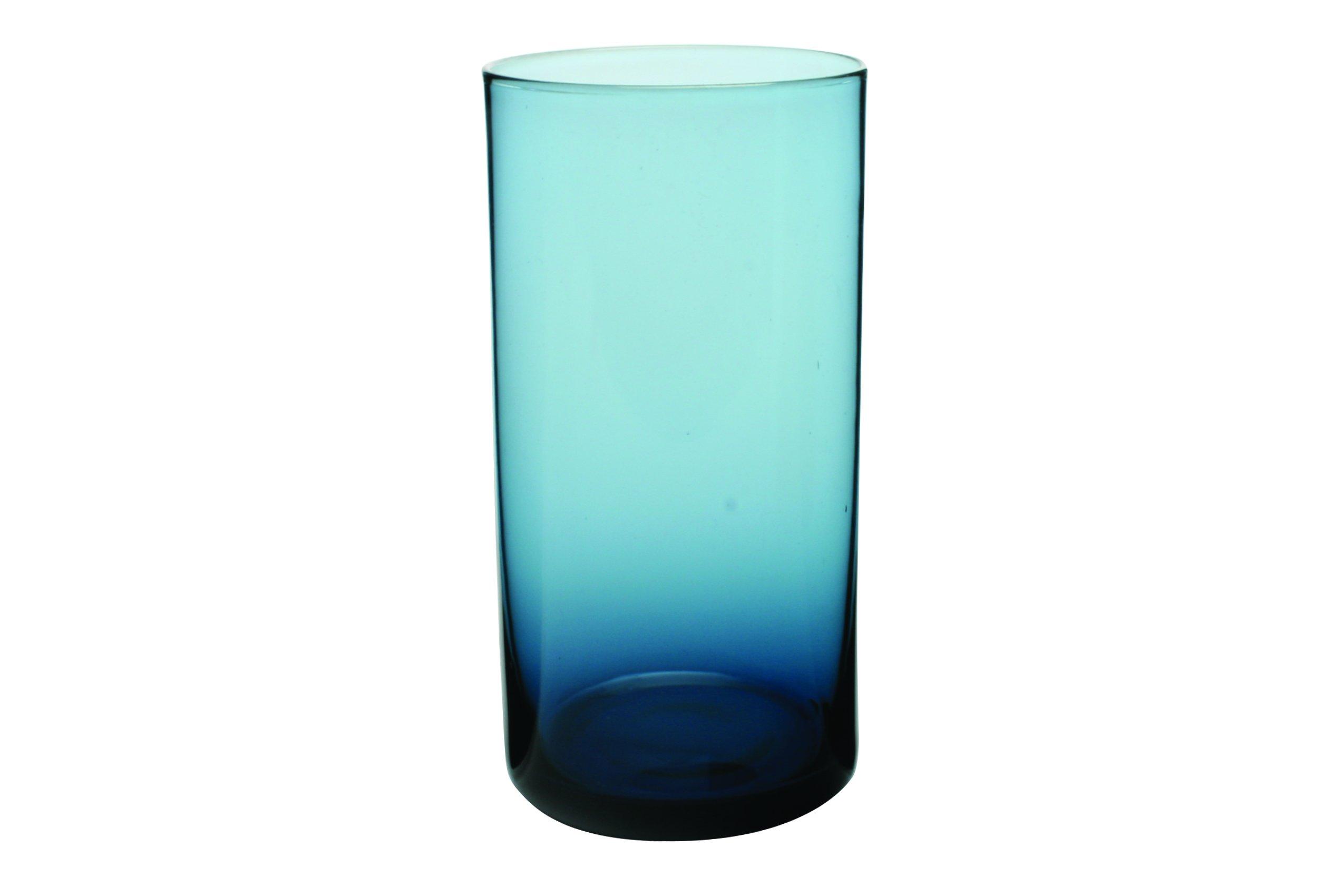 Canvas Home 4-Piece Elaina Collins Glass Set, Blue
