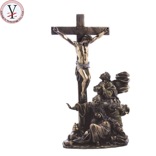 chinese factory custom handmade carved first holy communion souvenir of jesus statue