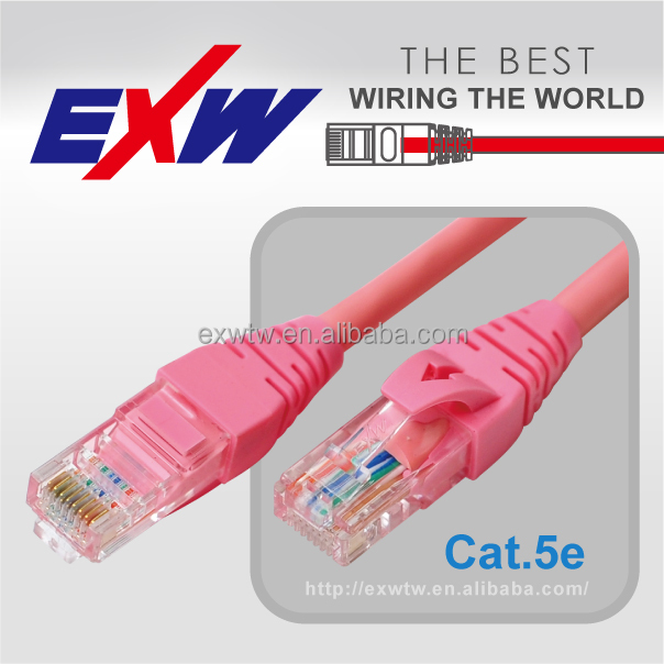 copper cable rj45 connector 24awg utp cat5 cable cat 5e twisted patch cord