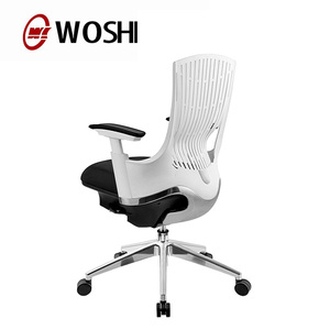 Comfort plastic PU flexible back Executive CEO computer ergonomic office staff chair series