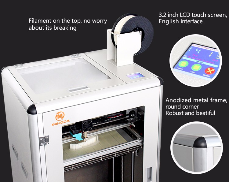 Object Maker 3d Printer Mingda Md 6c Abs 3 D Printer Big