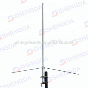 Diamond VHF/UHF fixed 144/430mhz dual band base station antenna, X50 fiberglass SO239 connector antenna