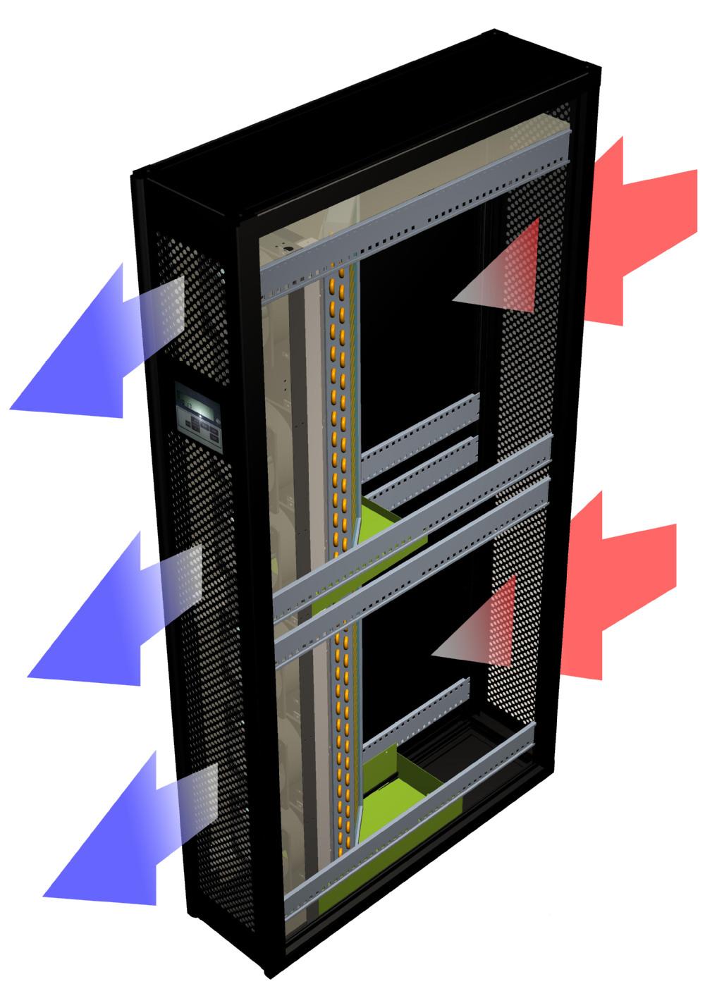 Server Room Cooling : Inrow server computer room air conditioner precision