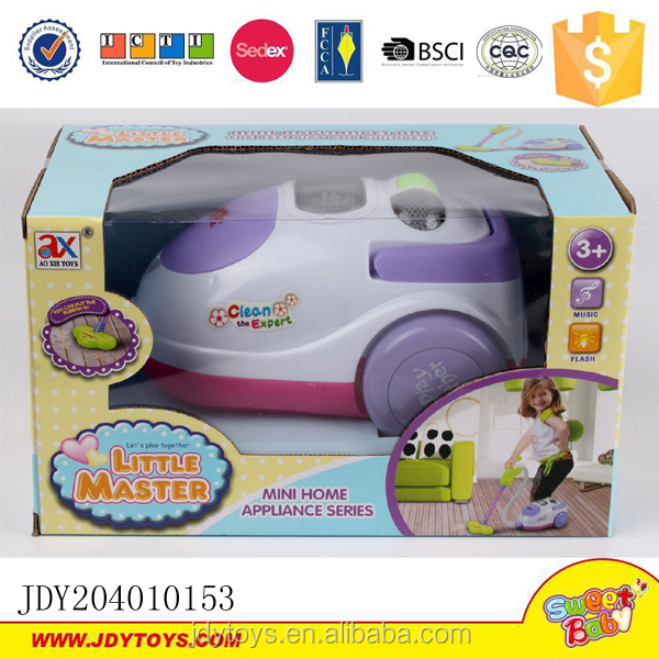 Pretend Play Toys Home Appliance Mini Vacuum Cleaner With Music ...