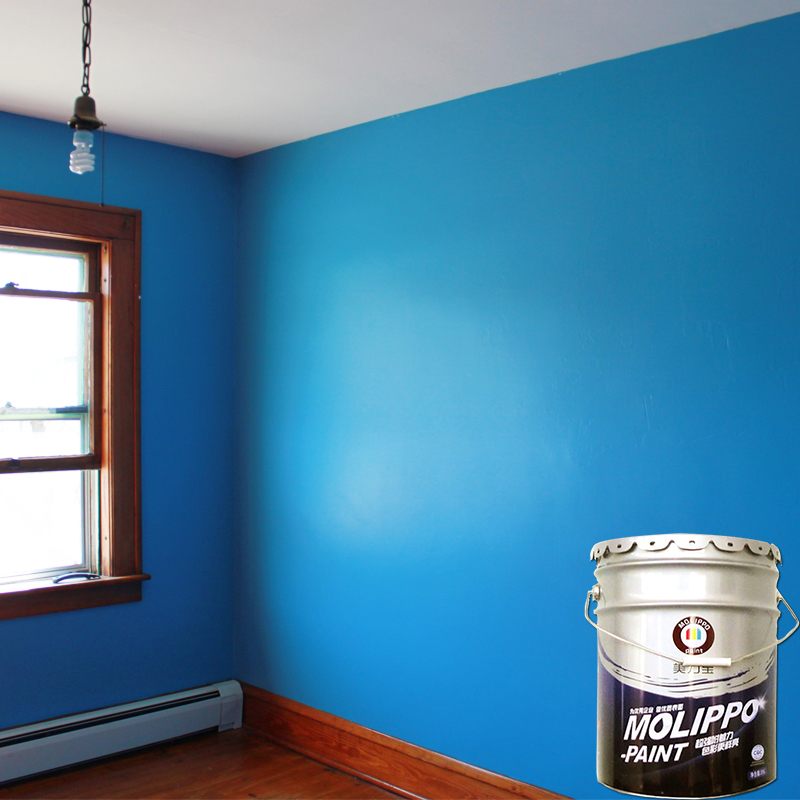 Environmental water based interior enamel paint