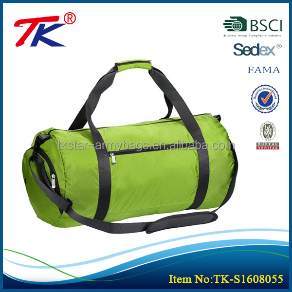 Good quality brands business ventilation green gym sport luggage bags bag