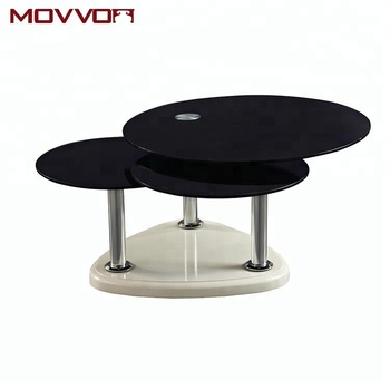 Fantastic Promotional Best Price Modern Design Swivel Rotate Black Triangular Base Restaurant Mdf Glass Coffee Table Buy Glass Coffee Table Glass Swivel Cjindustries Chair Design For Home Cjindustriesco