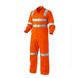 Orange EN 20471 3cm reflective taps Reflective Safety Security high visibility safety coverall