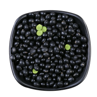 2018 new crop healthy high quality black beans with green kernel black beans green inside