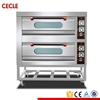 Oven with a regular commercial two - story four large - scale bread electric oven cake and pizza double
