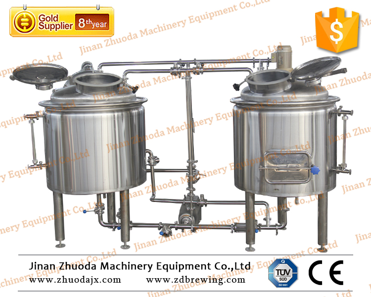 Food grade 200l stainless steel pot for beer brewery equipment